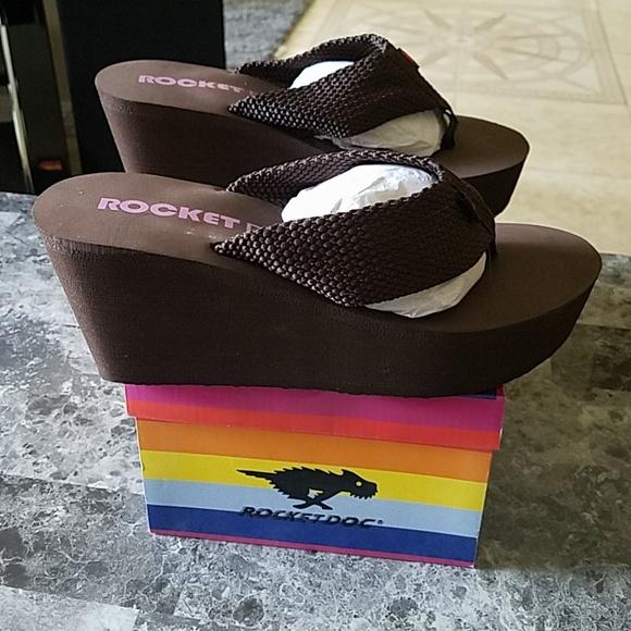 242086da Rocket Dog Shoes | Diver Webbing Wedge Sandal Nwb 9 | Poshmark